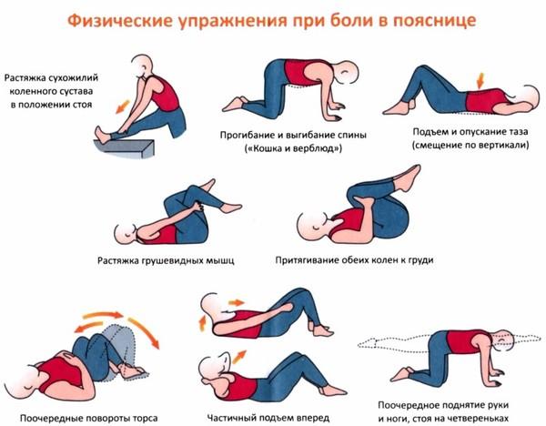 Грудной остеохондроз гимнастика