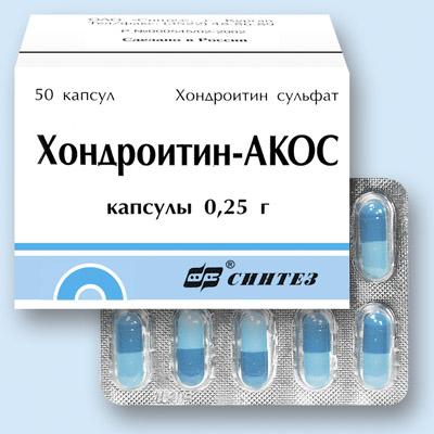 хондропротектор хондротин-акос
