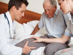 болит колено при сгибании осмотр пациента