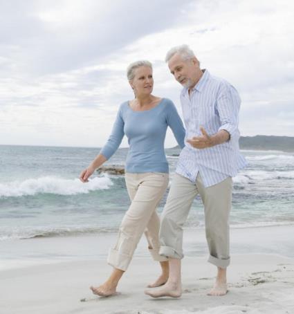 здоровые пожилые люди