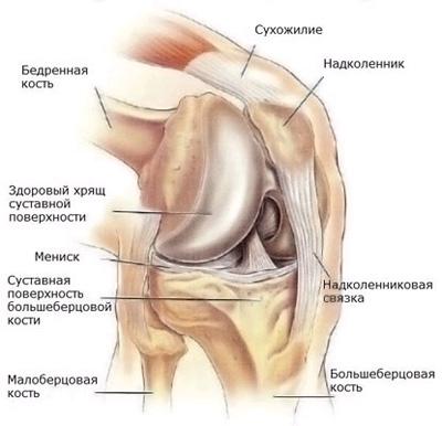 Боль в колене сбоку с внешней стороны после бега