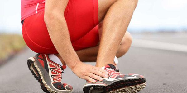 боль в голеностопном суставе после тренировки