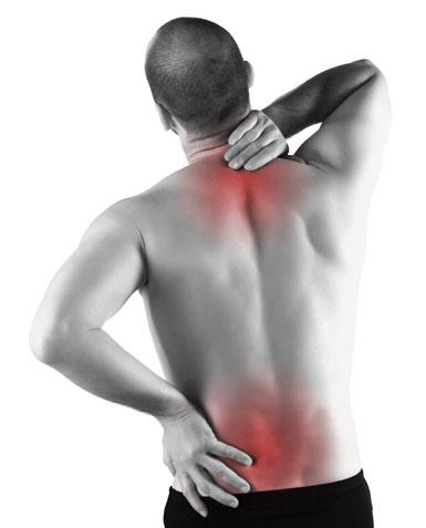жжение в спине и в шее