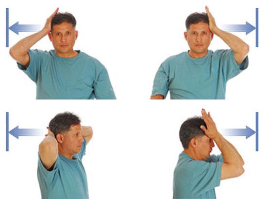 гимнастика при шейно грудном остеохондрозе
