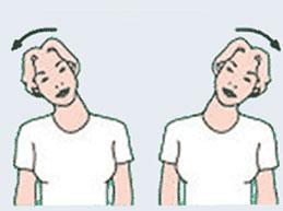 наклоны шеи вправо-влево