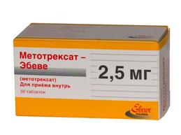препарат метотрексат эбеве