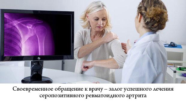 пациентка на консультации у врача