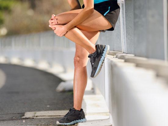 боль в колене во время бега