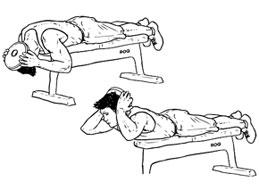 упражнение для укрепления мышц шеи с отягощением