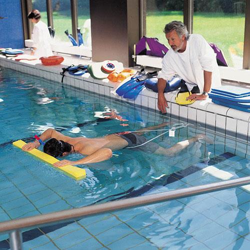 ЛФК в бассейне в клинике «Женераль Болье»