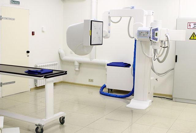 современный аппарат для рентгенографии