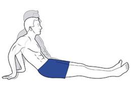 Упражнения комплекса Попова при плечелопаточном периартрите: обзор