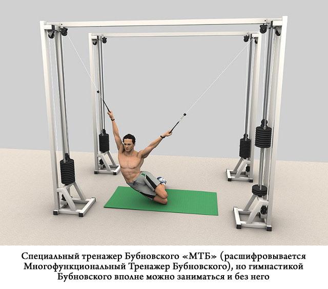 Гимнастика доктора Бубновского