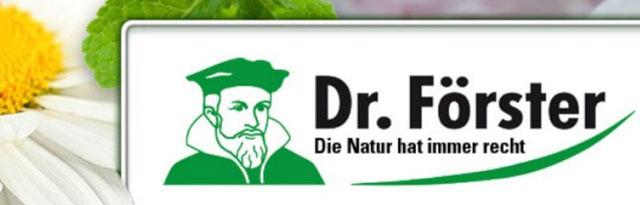 логотип компании Dr. Forster