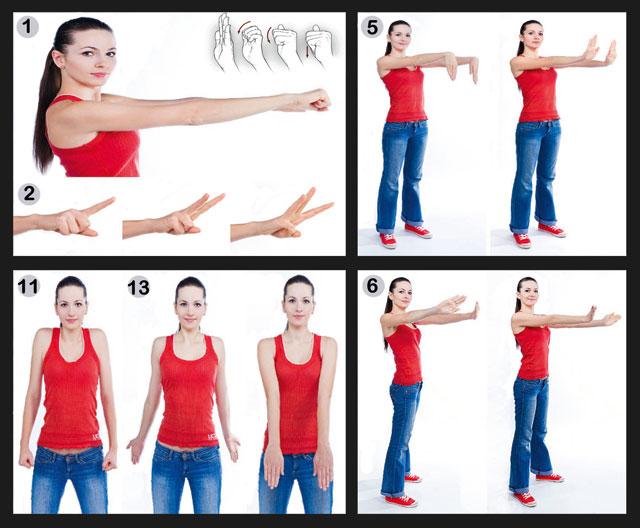гимнастика Норбекова для суставов рук
