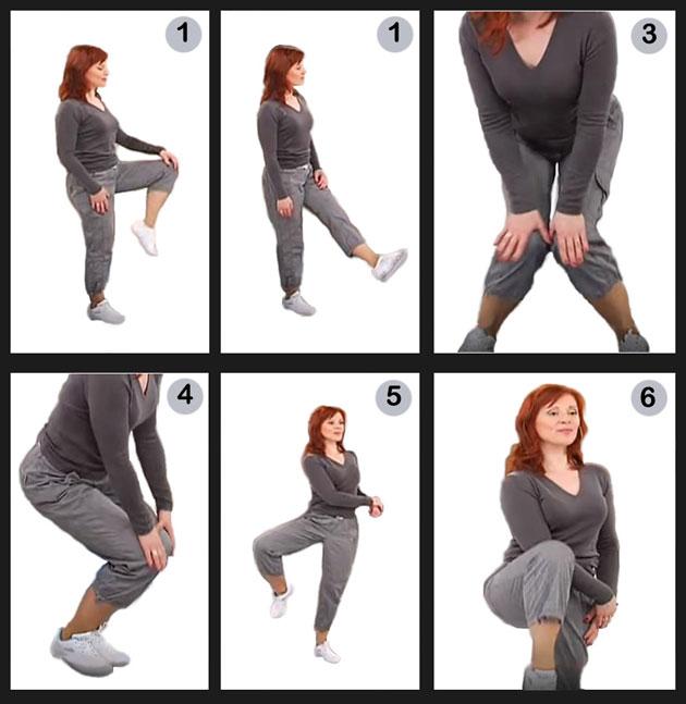 гимнастика Норбекова для суставов ног