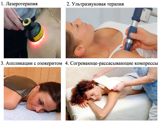 процедуры физиотерапии