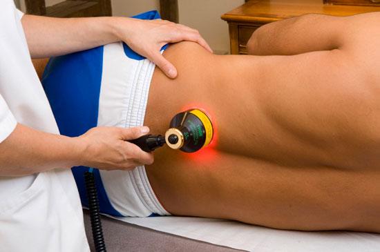 лазерная терапия поясничного отдела