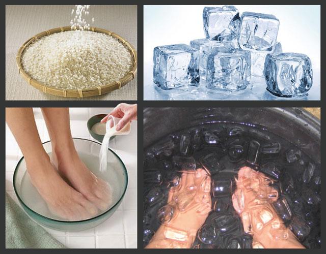 лечение подагры контрастными температурами