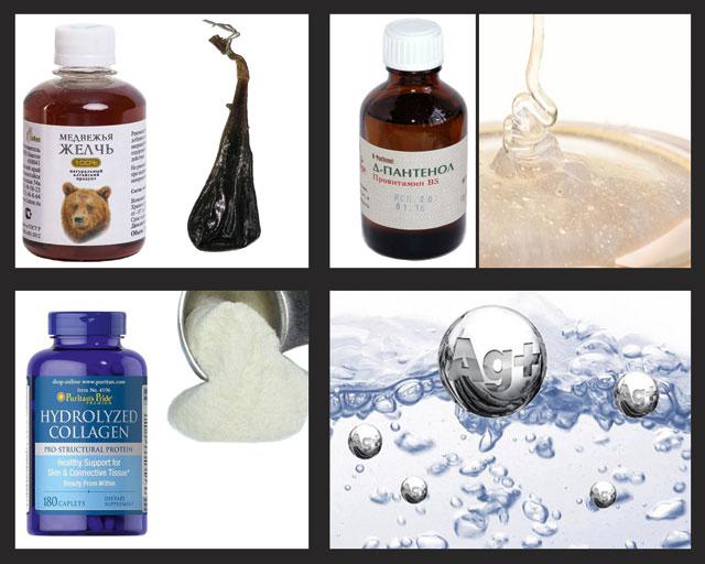 основные ингредиенты бальзама Дикуля для лечения суставов и позвоночника