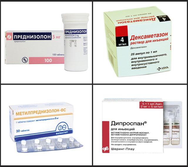 глюкокортикоидные препараты