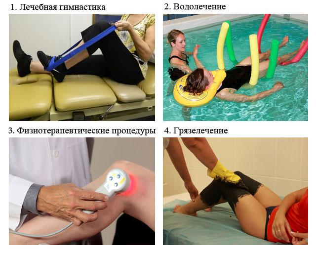 процедуры реабилитации в специализированной клинике