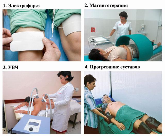 физиотерапия для лечения полиостеоартроза