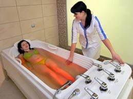 лечение в опорно-двигательном санатории с помощью бальнеотерапии