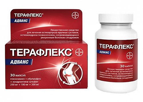 препарат терафлекс адванс