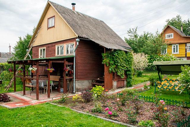 садовый участок в России