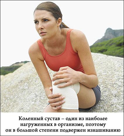 у девушки болит колено при ходьбе